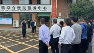 赣州市退役军人服务站创建工作流动现场会在赣县湖江观摩