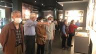 上饶市玉山县第一中学退休老干部参观博物馆