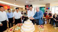 刘锋重阳节走访慰问离休老干部、百岁老人