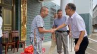 上饶市广丰区霞峰镇开展重阳节走访慰问活动