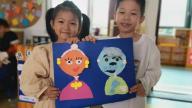 赣州市会昌县麻州镇中心幼儿园:爱在重阳  温暖心房