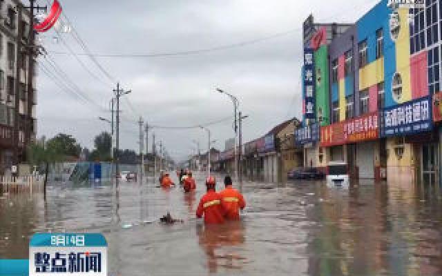 山东:台风中的暖心瞬间