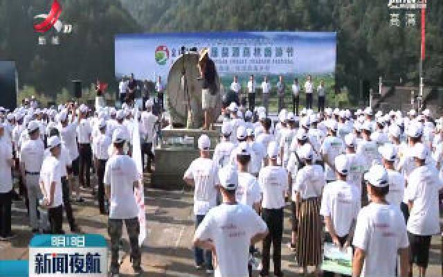 2019首届婺源森林旅游节开幕