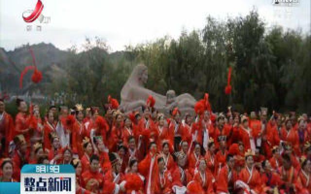 兰州大学:110对校友夫妇走红毯庆母校110年华诞