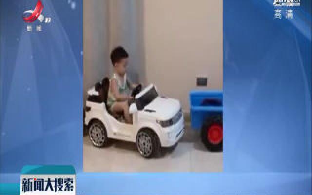 4岁萌娃侧方位停车 父亲:他从小喜欢车