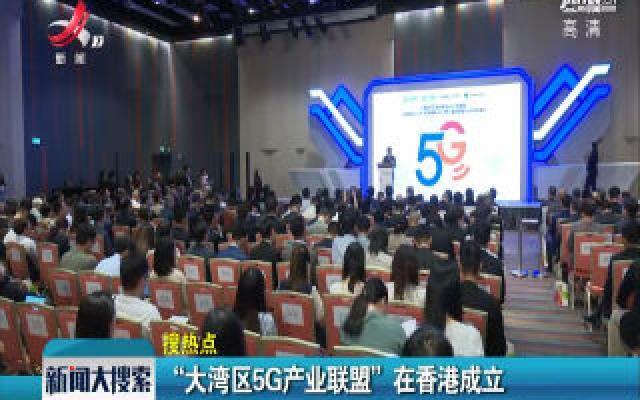 """""""大湾区5G产业联盟""""在香港成立"""