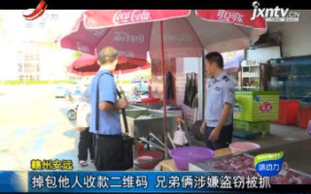 赣州安远:调包他人收款二维码 兄弟俩涉嫌盗窃被抓