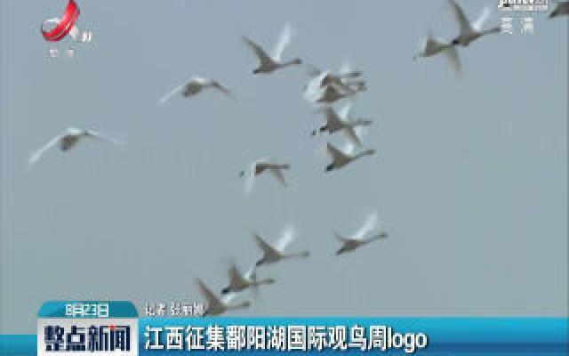 江西征集鄱阳湖国际观鸟周logo