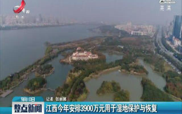 江西2019年安排3900万元用于湿地保护与恢复