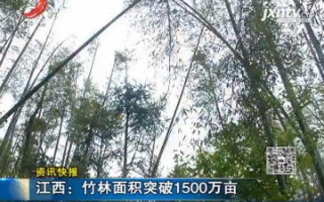江西:竹林面积突破1500万亩