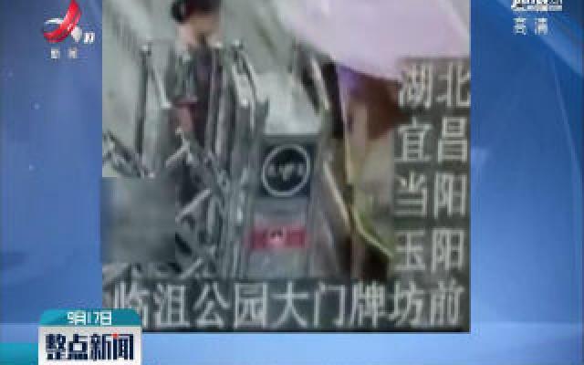 湖北宜昌:电动车遮阳棚又惹祸了