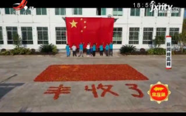 【中国农民丰收节】赣州寻乌:4000余斤辣椒摆成国旗庆丰收
