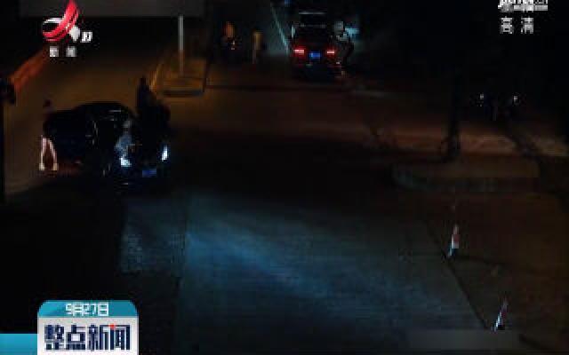 上饶:醉驾司机疯狂逃窜 两名辅警被撞伤