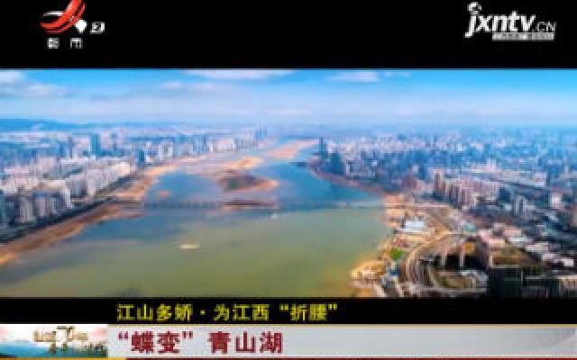 """【江山多娇·为江西""""折腰""""】""""蝶变""""青山湖"""