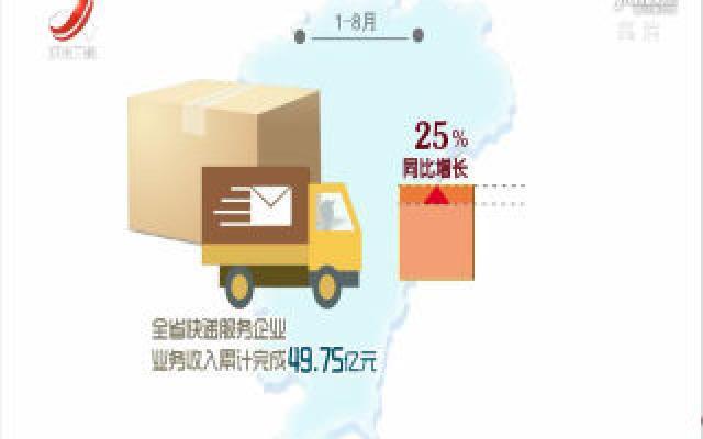 1-8月江西快递业保持高速增长