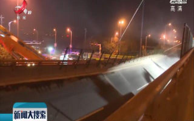 无锡高架桥侧翻事故致3人死亡 2人受伤