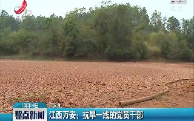 江西万安:抗旱一线的党员干部