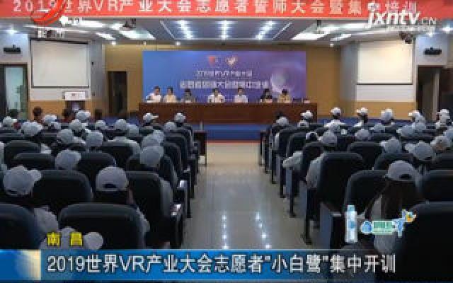 """南昌:2019世界VR产业大会志愿者""""小白鹭""""集中开训"""