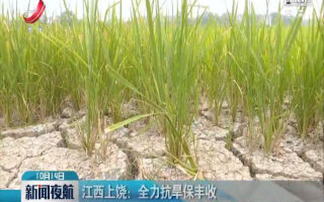 江西上饶:全力抗旱保丰收
