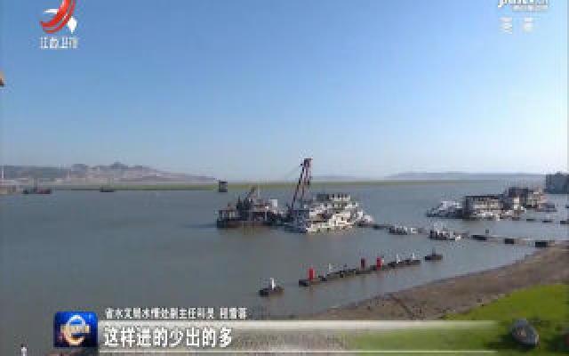 鄱阳湖进入低枯水期