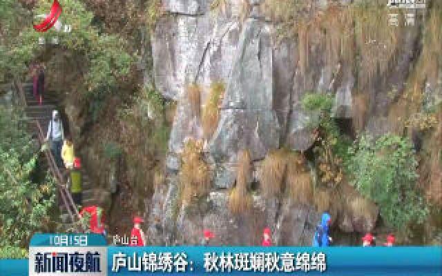 庐山锦绣谷:秋林斑斓秋意绵绵