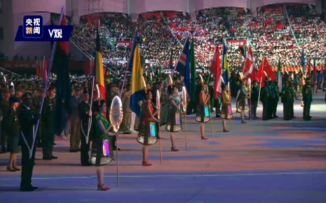 独家视频丨第七届世界军人运动会在武汉市隆重开幕 习近平出席开幕式并宣布运动会开幕