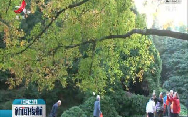 庐山:山林斑斓秋景美