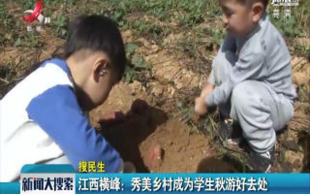 江西横峰:秀美乡村成为学生秋游好去处