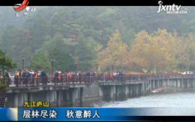九江庐山:层林尽染 秋意醉人