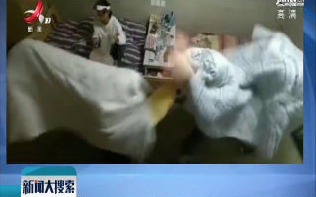 河南商丘:女生宿舍搞笑舞狮走红