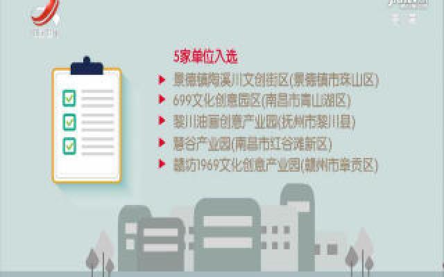 首批省级文化产业园区名单公布