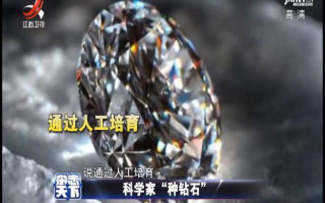 """科学家""""种钻石""""是真还是假"""