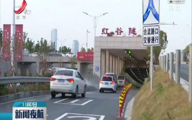 """南昌市设置首个""""交替通行""""路口"""