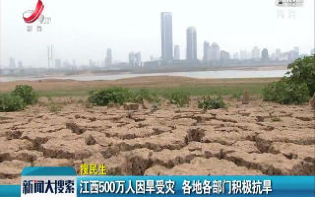 江西500万人因旱受灾 各地各部门积极抗旱