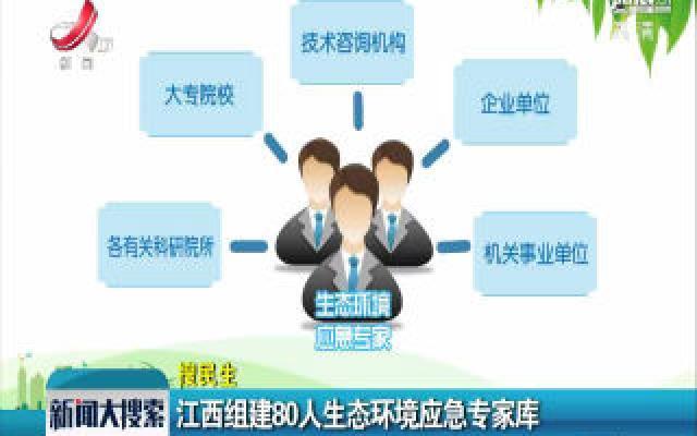 江西组建80人生态环境应急专家库