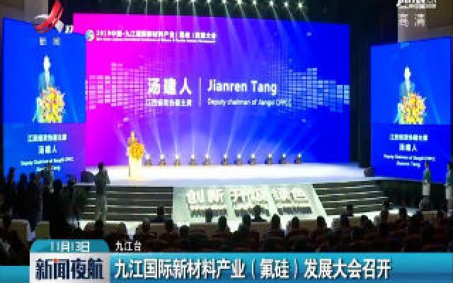 九江国际新材料产业(氟硅)发展大会召开