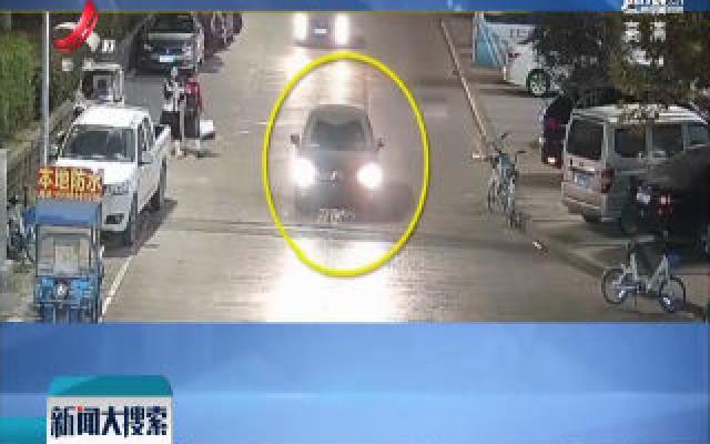 浙江苍南:父亲让3岁儿子开车 妻子发上网交警找上门
