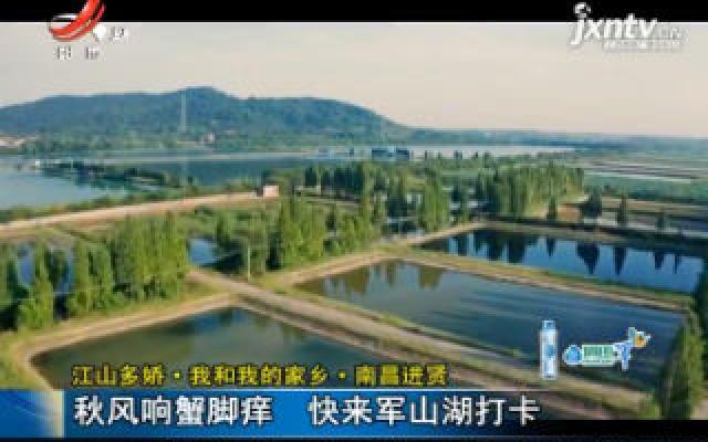 【江山多娇·我和我的家乡·南昌进贤】秋风响蟹脚痒 快来军山湖打卡