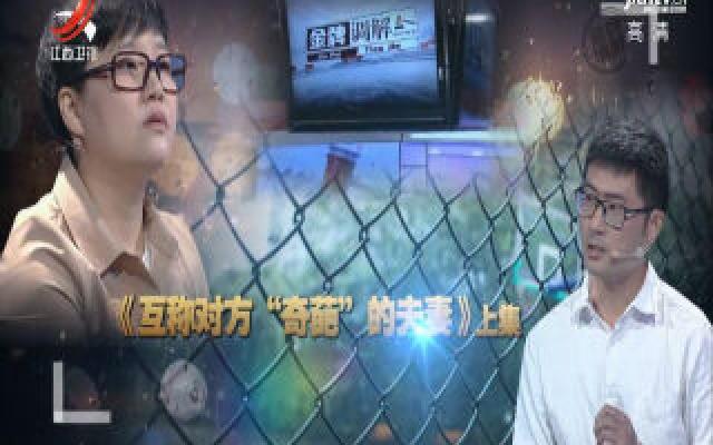 """金牌调解20191130 互称对方""""奇葩""""的夫妻(上)"""