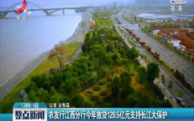 农发行华人娱乐app下载分行2019年放贷128.5亿元支持长江大保护