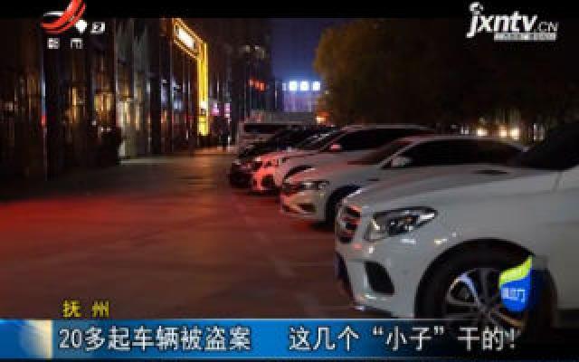 """抚州:20多起车辆被盗案 这几个""""小子""""干的!"""