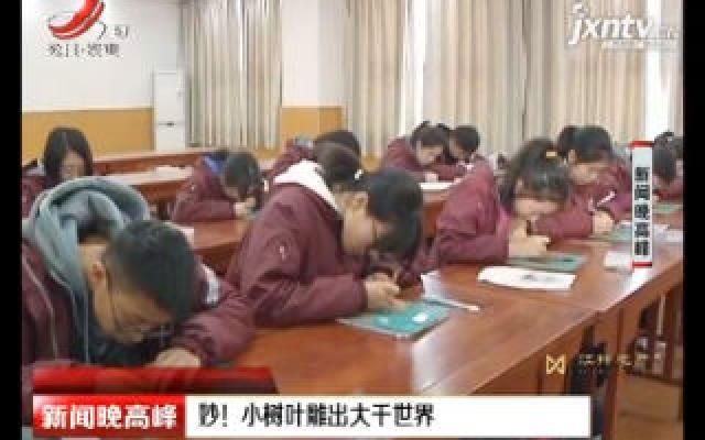 郑州:妙!小树叶雕出大千世界