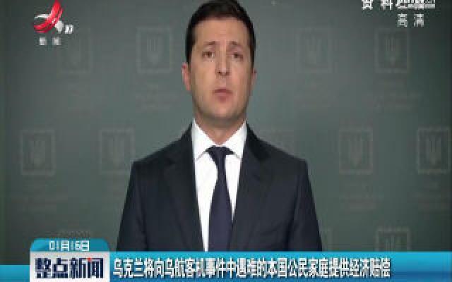 乌克兰将向乌航客机事件中遇难的本国公民家庭提供经济赔偿
