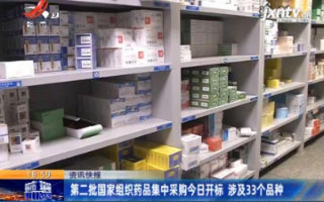 第二批国家组织药品集中采购1月17日开标 涉及33个品种