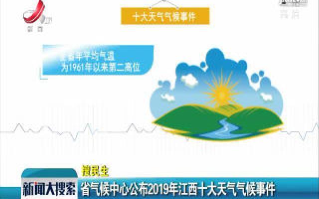 江西省气候中心公布2019年江西十大天气气候事件