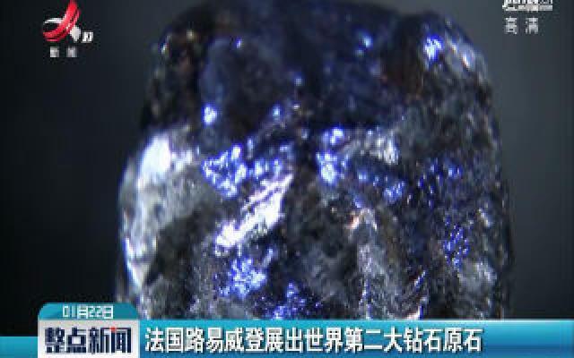 法国路易威登展出世界第二大钻石原石