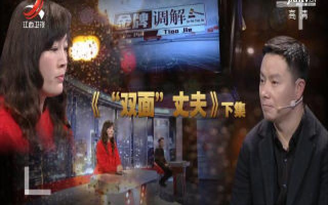 """金牌调解20200211 """"双面""""丈夫(下)"""