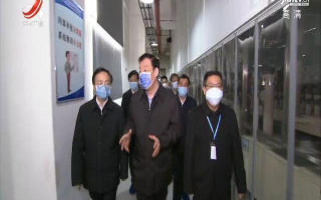 刘奇在吉安市调研时强调 慎终如始抓好疫情防控工作  善作善成推动经济社会发展