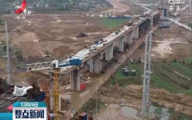 赣深高铁龙南段有序复工复产