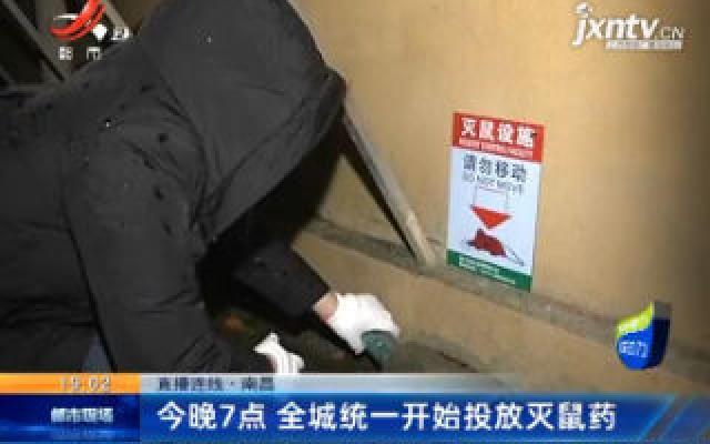 直播连线·南昌:3月27日晚7点 全城统一开始投放灭鼠药
